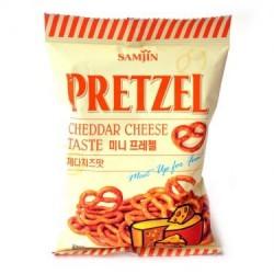Samjin - Pretzel Cheddar Cheese Taste Snack