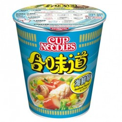 Nissin Noodles Seafood Flavour (合味道 海鮮味 杯麵) 75g Instant...