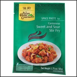 Asian Home Gournet Cantonese Sweet & Sour Stir Fry Spice Paste