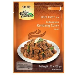 Asian Home Gourmet Spice Paste for Indonesian Rendang Curry - Hot