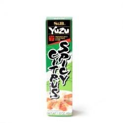 S&B Yuzu Spicy Citrus Paste in Tube