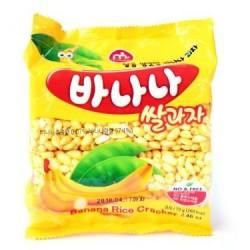 Mammos Banana Rice Cracker snack