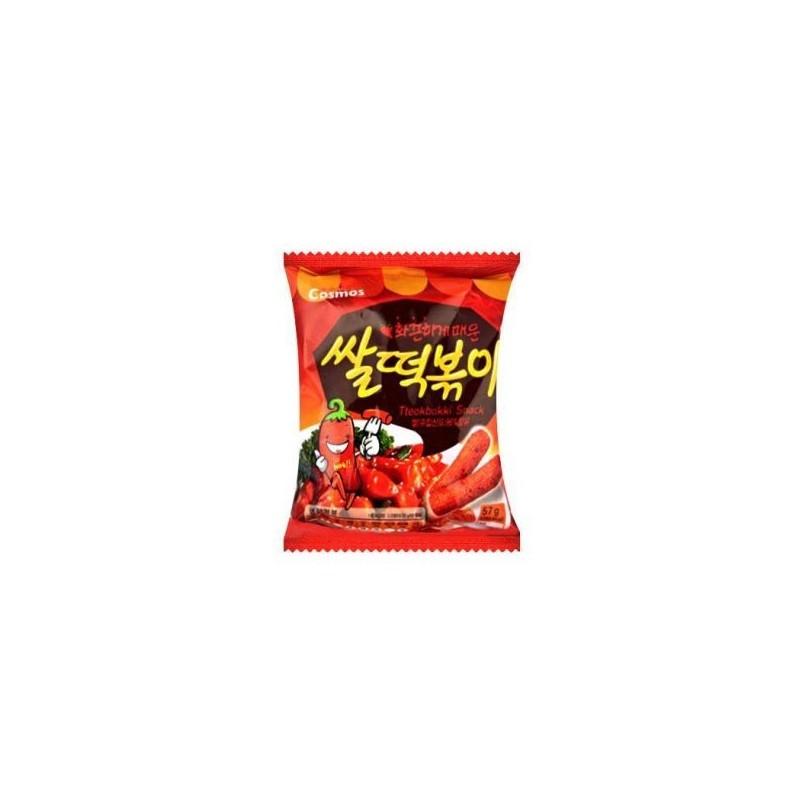 Cosmos (코스모스 쌀떡볶이) Tteok-bokki stir-fried rice snack Snack