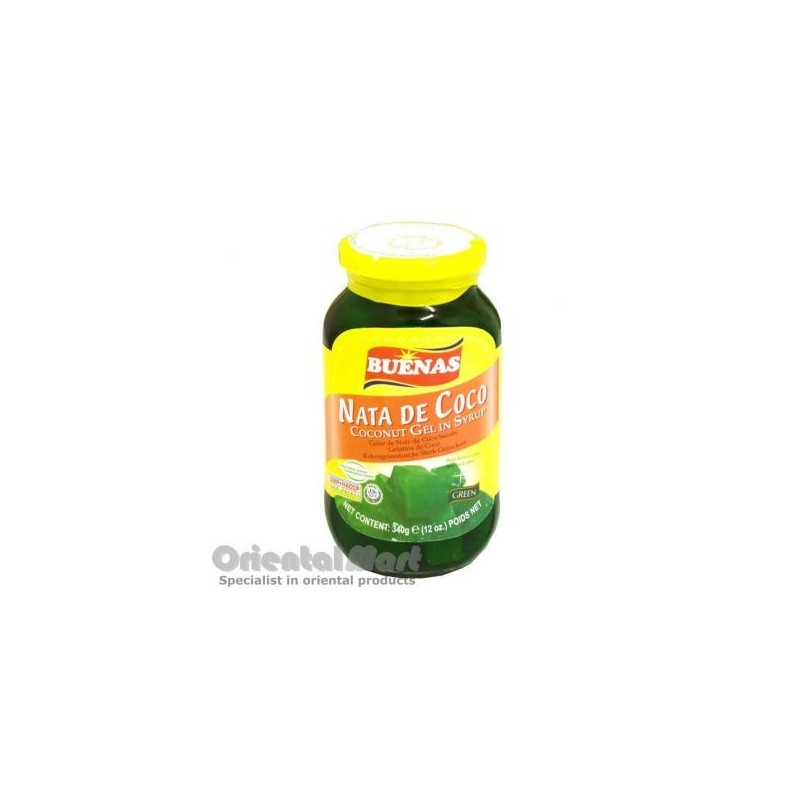 Coconut Gel - Buenas Nata de Coco Coconut Gel in Syrup - Green