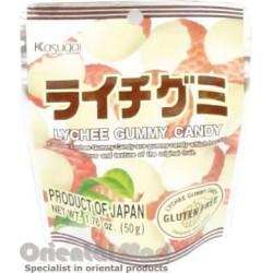 Snack - Kasugai Lychee Gummy Candy