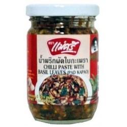 Maesri Chili Paste With Basil Leaves 200g Pad Kapao Basil...