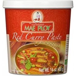 Mae Ploy Red Curry Paste 400g Red Curry Paste