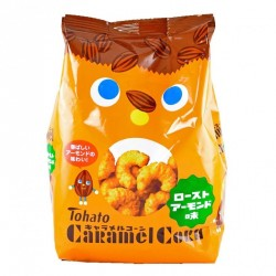 Tohato Snacks Caramel Corn - Roasted Almond snacks
