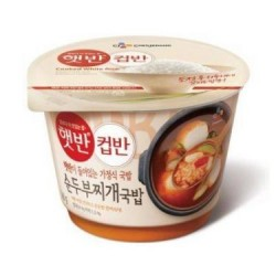 CJ Cup Ban (햇반 컵반 순두부찌개국밥) Spicy Tofu