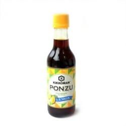 Sauce - Kikkoman 250ml Ponzu Citrus Seasoned Soy Sauce - Lemon