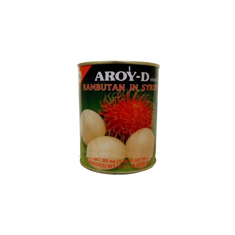 Aroy-D (糖水紅毛丹) Rambutan In Syrup