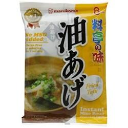 Marukome Instant Miso Soup Fried Tofu