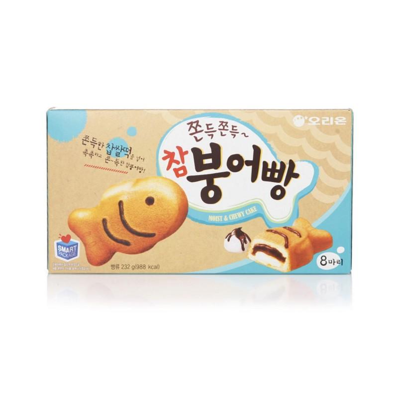 Orion Snacks (오리온 참붕어빵) Cham Bungeoppang