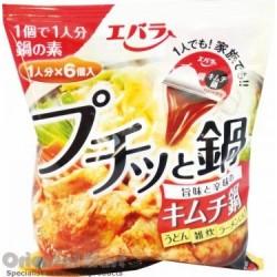 Ebara Kimchi Hot Pot Soup Stock (Puchitto Nabe)