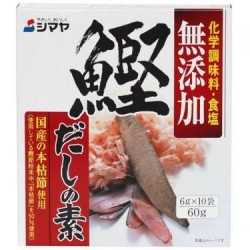 Mushrooms - Snack - Shimaya MSG Free Bonito Flavored Seasoning (10 sachets)