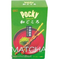 Glico Pocky Chocolate Matcha