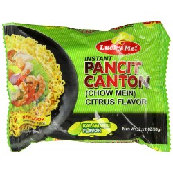 Lucky Me - 60g - Pancit Canton (Citrus Fruits)