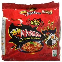 Samyang - Noodles - 700g - Hot chicken - Pack of 5