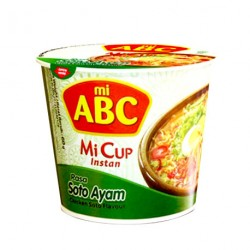 Mi ABC - Mi Cup - 60g - Soto Ayam (Chicken)
