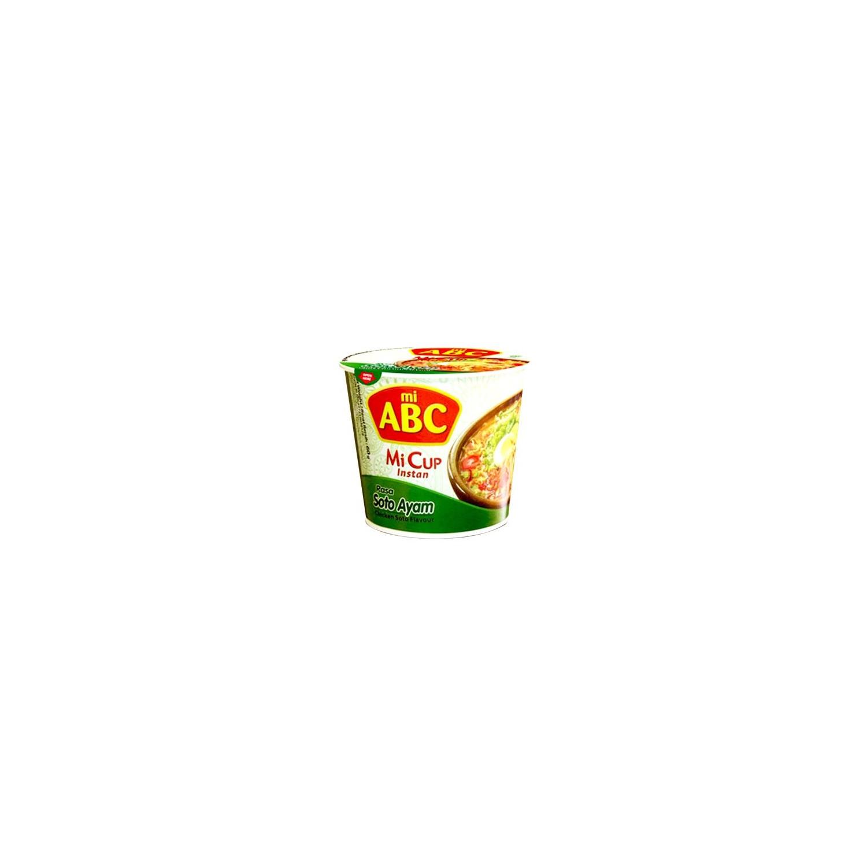 Mi ABC - Mi Cup - 60g - Soto Ayam (Chicken)