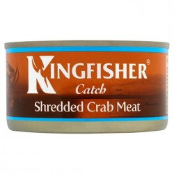Kingfisher 170g Shredded Crab Meat