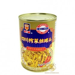 Maling 340g Canned Preserved Chinese Radish (Shredded)
