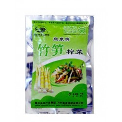 Preserved Mustard Stem With Bamboo Shoots - 80g