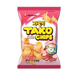 Nongshim - 60g - Tako Chips - Seafood