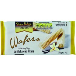 Shires Bakery 200g Vanilla Layered Wafers