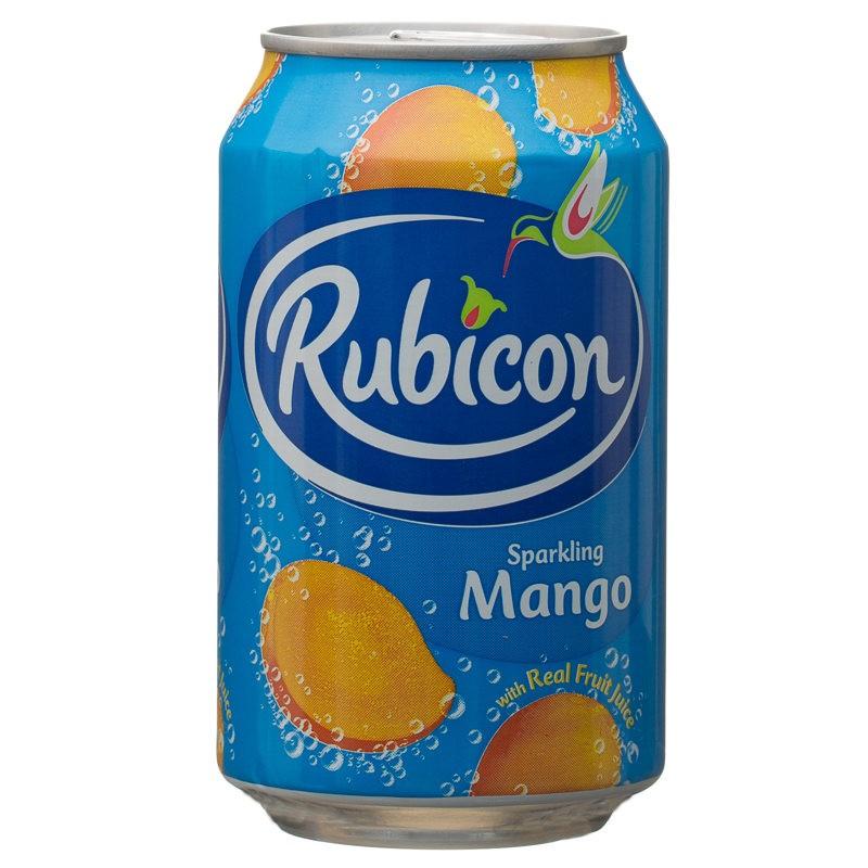 Rubicon 330mL Sparkling Mango
