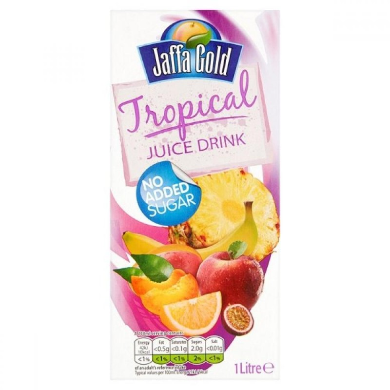 Jaffa Gold 1 Litre Tropical Juice Drink
