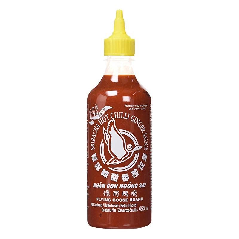 Flying Goose Brand - 455ml - Sriracha Hot Chilli Ginger Sauce
