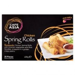 Cafe Asia - 400g - Chicken Spring Rolls