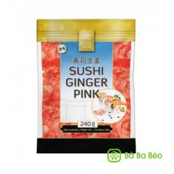 Golden Turtle 240g Sushi Ginger Pink
