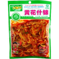 WJT Preserved Veg 味聚特黄花什锦138g Day Lily and Veg