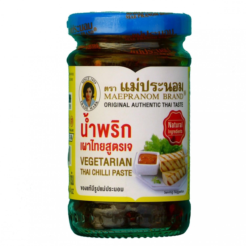 Mae Pranom - 228g - Thai Chilli Paste (Vegetarian)