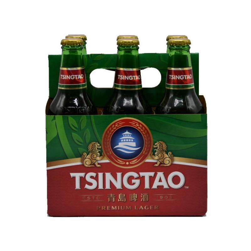 Tsingtao - Pack of 6 - Premium Larger