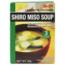 S&B - 30g - Instant Shiro Miso Soup