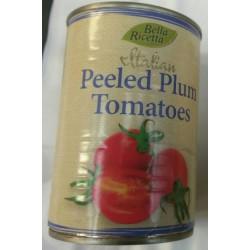 Bella Ricetta - 400g - Peeled Plum Tomatoes