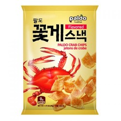 Paldo 50g Flavoured Crab Crisps