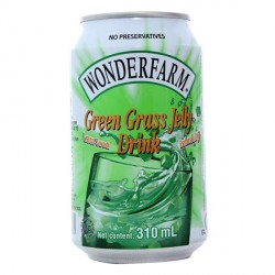 Wonderfarm 310mL Green Grass Jelly Drink