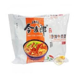 JML Spicy Beef Flavour Noodles (今麦郎 香辣牛肉面)