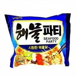 Samyang Noodles - Seafood Party (해물파티) Instant Korean Ramen Noodles