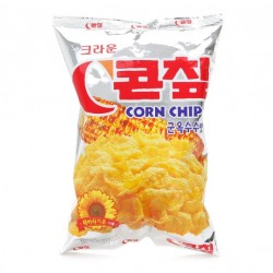 Crown Corn Chips Korean Snack 148g Sweet Delicious Grilled Corn flavor