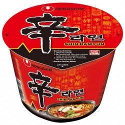 Nong Shim Big Bowl 144g Noodles ( 農心辛辣杯麵 (大)) Shin Cup Noodle Soup