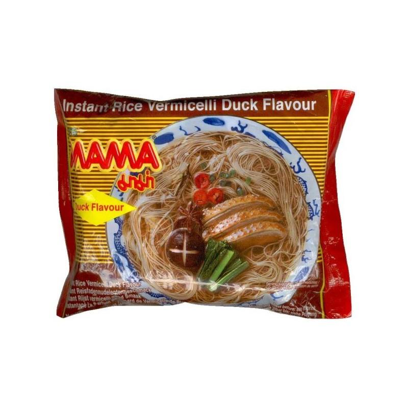 Mama Instant Rice Noodles 55g Duck Flavour Bun Vit Thai Rice Noodles