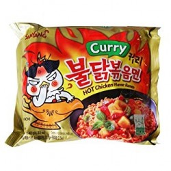 Samyang Curry Hot Chicken Stir Ramen Noodle Soup Pack of 40