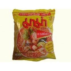 Mama Noodles Tom Yum Pork Flavour Thai Yellow Noodles