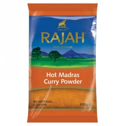Rajah Hot Madras 100g Curry...