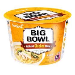 Samyang Big Bowl Tray 6x95g Chicken Flavour Korean Noodle Bowls
